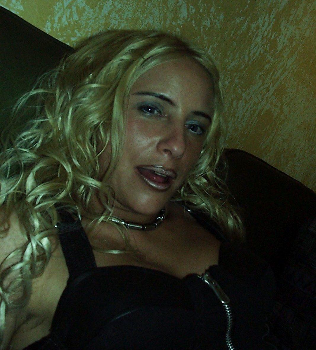 Gesicht einer schönen Blondine